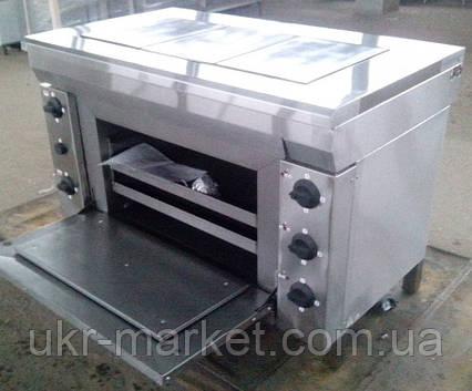 Плита електрична промислова ЕПК-3ШБ еталон, фото 2