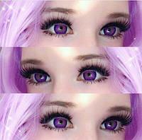 Цветные линзы Cos фиолетовые