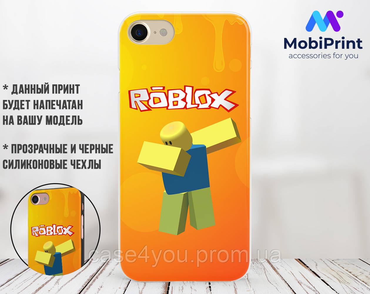 Силиконовый чехол Роблокс (Roblox) для Samsung M105 Galaxy M10