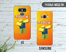 Силиконовый чехол Роблокс (Roblox) для Samsung M105 Galaxy M10 , фото 3