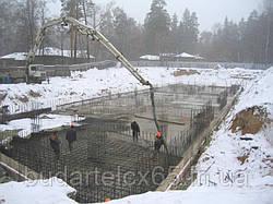 Виробництво залізобетонних робіт у зимових умовах