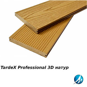 Террасная доска TARDEX PROFESSIONAL 3D натур