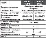 Шафа жарова електрична односекційна ШЖЭ-1-GN1/1 еталон, фото 3
