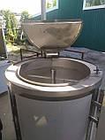 Котел харчоварильний електричний КПЕ-60 круглий, фото 8