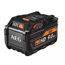 Аккумулятор для инструментов LI-ION 18 В/ 9 Ач (4932464231) AEG L1890RHD (Германия)