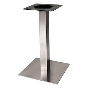 Опора для стола Нил,  высота 72 см, основание 50*50 см, нержавеющая сталь
