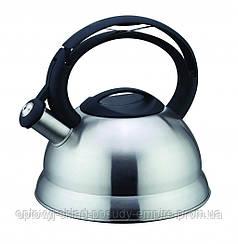 Чайник нержавеющая сталь 3 л со свистком Con Brio СВ-403