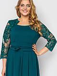 Нарядное платье Кэрол изумруд, фото 5