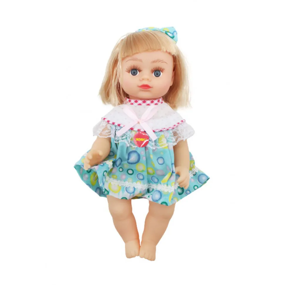 Кукла Алина 5077-AI (Бело-Голубой наряд)