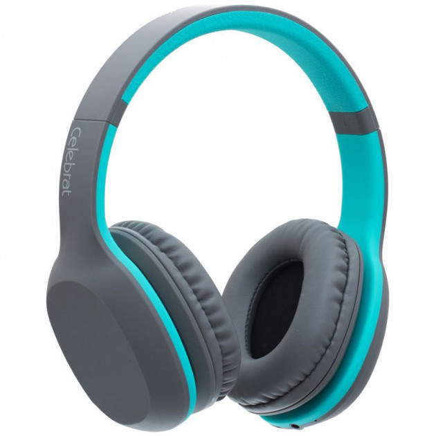 Беспроводные Bluetooth наушники Celebrat A18, (Голубой)