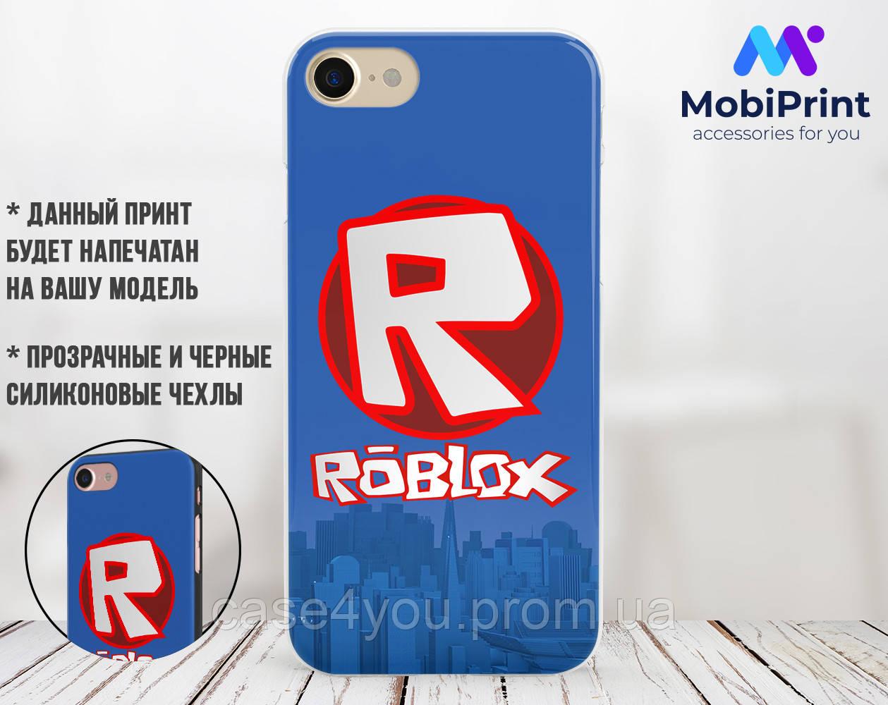 Силиконовый чехол Роблокс (Roblox) для Xiaomi Redmi Note 6 Pro