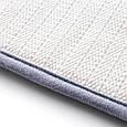 Мягкий коврик для ванной комнаты, серый 39х59 см, впитывающий в ванную комнату (душевую) (GK), фото 4