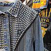 Женская джинсовая куртка с бахромой, размеры 42-44, 46-48, фото 3
