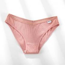 Женские трусы из хлопка 52 размер, розовые - 95% хлопок, 5% спандекс