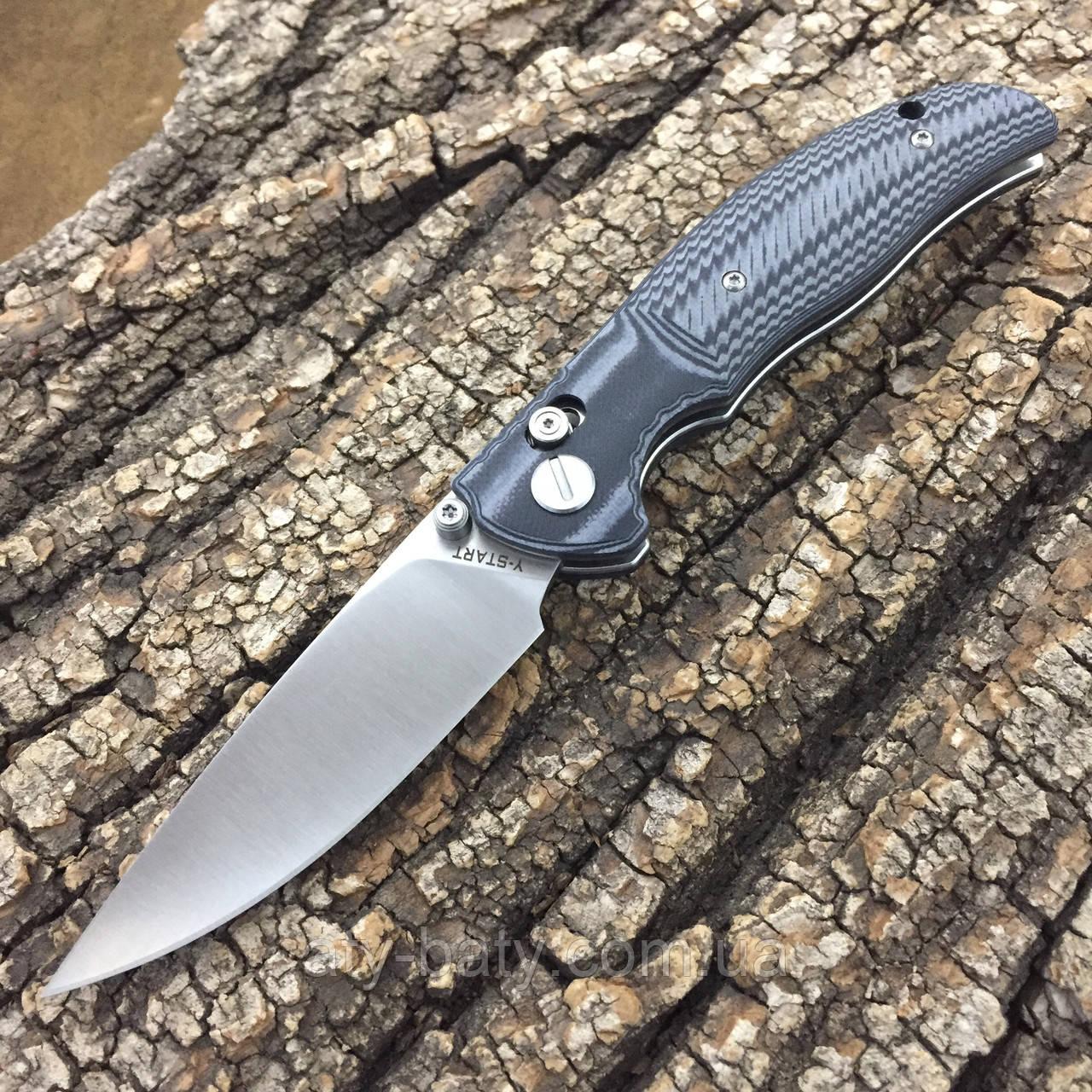 Нож Y-START JIN02 Black/Grey