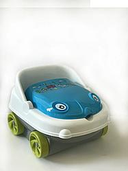 Детский Музыкальный горшок Машинка IRAK PLASTIK