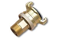 IMITATE GK Соединитель байонетный с прижимным кольцом (быстросъем) РН 3/4 , ЛАТУНЬ, GKI111ASH