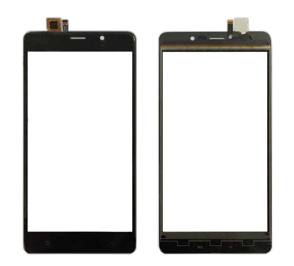 Сенсор (Тачскрин) для Blackview A8 Max (Черный) Оригинал Китай