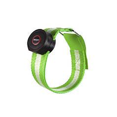 Світлодіодний LED браслет безпеки Lesko HY-0907 Green для бігу і велоспорту