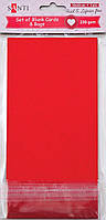 Заготовки для открыток 952296 10х20см красный Santi