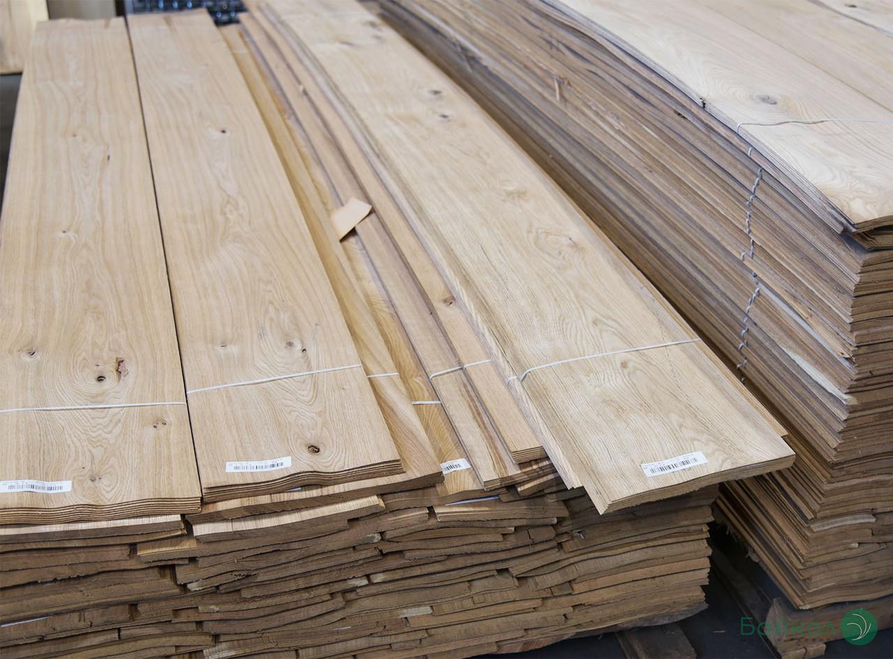 Шпон Дуба - 0,6 мм довжина від 0,80 - 2,05 м / ширина від 10 см (сучки)