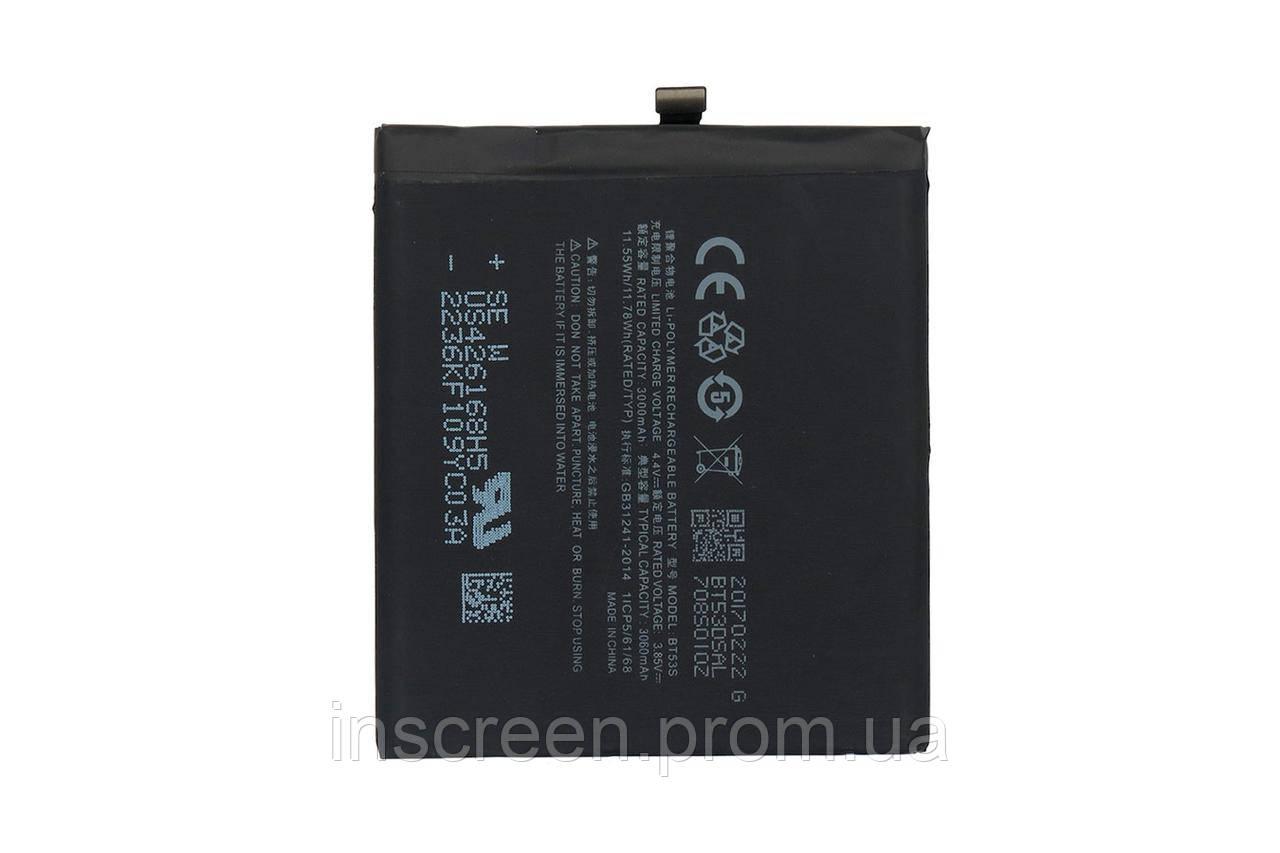 АКБ (Аккумулятор) Meizu BT53S для Meizu Pro 6S M570Q-S, 3060 mAh
