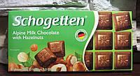 Шоколад Trumpf Schogetten Milk Chocolate with Hazelnuts 100 гр