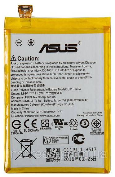 АКБ (Аккумулятор) Asus C11P1424 для ZenFone 2 ZE550CL, ZE550ML Z008D, ZenFone 2 ZE551ML Z00AD, Z00ADB, ZenFone, фото 2