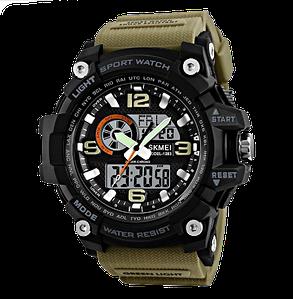 Наручні годинники з 2-м циферблатом (Подвійний контроль)