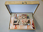 Комплект постельного белья ELWAY (Польша) 3D LUX Сатин Евро Подарочная упаковка (167), фото 3