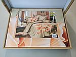 Комплект постельного белья ELWAY (Польша) 3D LUX Сатин Евро Подарочная упаковка (167), фото 2