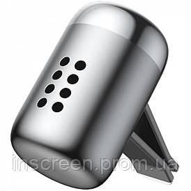 Автомобільний ароматизатор Baseus Little Fatty сріблястий (SUXUN-PD0S)