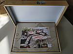 Комплект постельного белья ELWAY (Польша) 3D LUX Сатин Евро Подарочная упаковка (170), фото 3