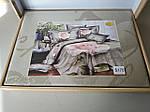 Комплект постельного белья ELWAY (Польша) 3D LUX Сатин Евро Подарочная упаковка (170), фото 2