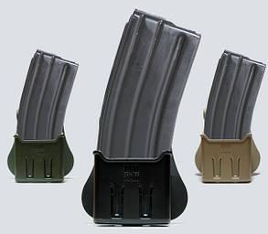 Одинарный полимерный подсумок для магазина AR15/M16, Galil IMI-Z2400 Чорний