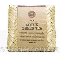 Вьетнамский Зеленый чай Премиум с лотосом Lotus Green Tea 125грамм Вьетнам