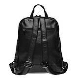 Женский кожаный рюкзак Keizer K111085-black, фото 3