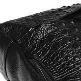 Женский кожаный рюкзак Keizer K111085-black, фото 5