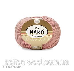 Nako Pure Wool (Нако Пур вул) 100%шерсть  11632