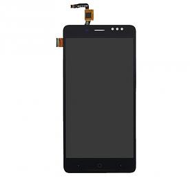 Дисплей для телефона Bluboo D1 с сенсорным стеклом (Черный) Оригинал Китай