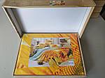 Комплект постільної білизни ELWAY (Польща) 3D LUX Сатин Євро Подарункова упаковка (175), фото 3