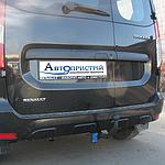 Фаркоп съемный на 2 болтах-  Dacia Dokker Фургон (2012-2016)