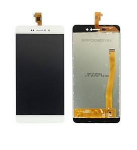 Дисплей для телефона Bluboo Picasso с сенсорным стеклом (Белый) Оригинал Китай