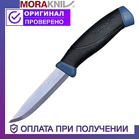 Нож Morakniv Companion с лезвием из нержавеющей стали Моракнайв Navy Blue (13164)