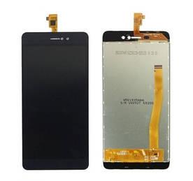 Дисплей для телефона Bluboo Picasso с сенсорным стеклом (Черный) Оригинал Китай