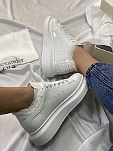 McQueen White (белые) Gloss (глянцевые) fur (мех)