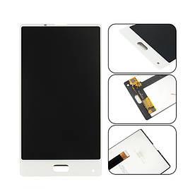 Дисплей для телефона Bluboo S1 с сенсорным стеклом (Белый) Оригинал Китай