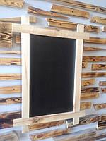 Штендер, мимохід реклама Дерев'яний Крейдяні дошки-меню (дошки для писання крейдою) 60 на 40