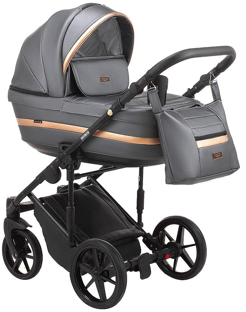 Детская универсальная коляска 2 в 1 Adamex Rimini Eco RI-254