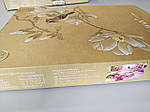 Комплект постельного белья ELWAY (Польша) 3D LUX Сатин Евро Подарочная упаковка (322), фото 3